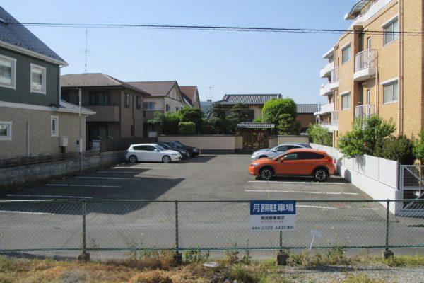 熊谷市銀座駐車場