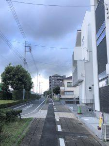 【本太4丁目(2号棟)】前面道路