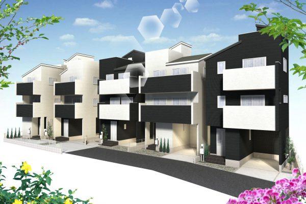 【さいたま市南区根岸3丁目】新築 全5棟(JR「南浦和」駅 徒歩11分)